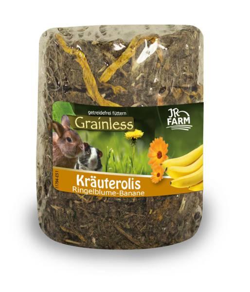JR Grainless Kräuterolis Ringelblume Banane 80g