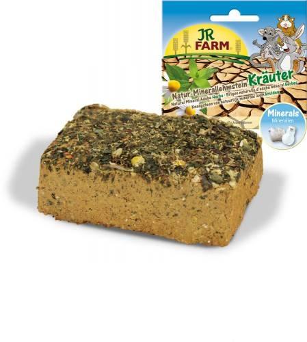 JR Farm Natur-Minerallehmstein Kräuter