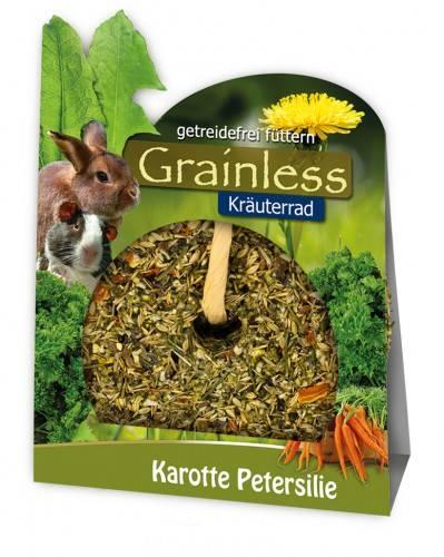 JR Farm Grainless Kräuterrad Karotte Petersilie mit Verpackung