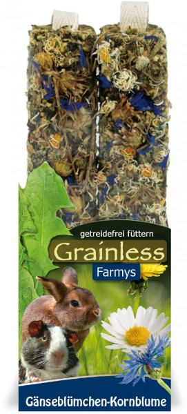 JR Farmy Grainless Gänseblümchen - Kornblume 140g