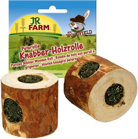 JR Farm Knabber-Holzrolle Petersilie