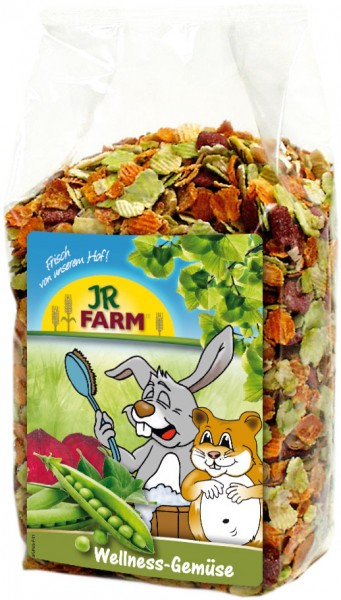 JR Farm Wellness-Gemüse mit Verpackung