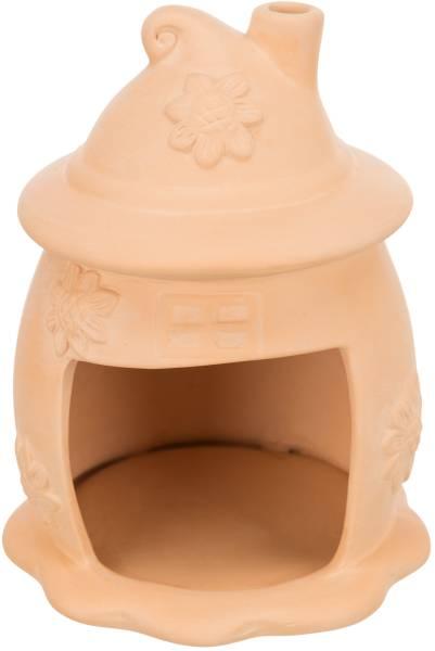 Keramikhaus Hütte 11x14 terracotta