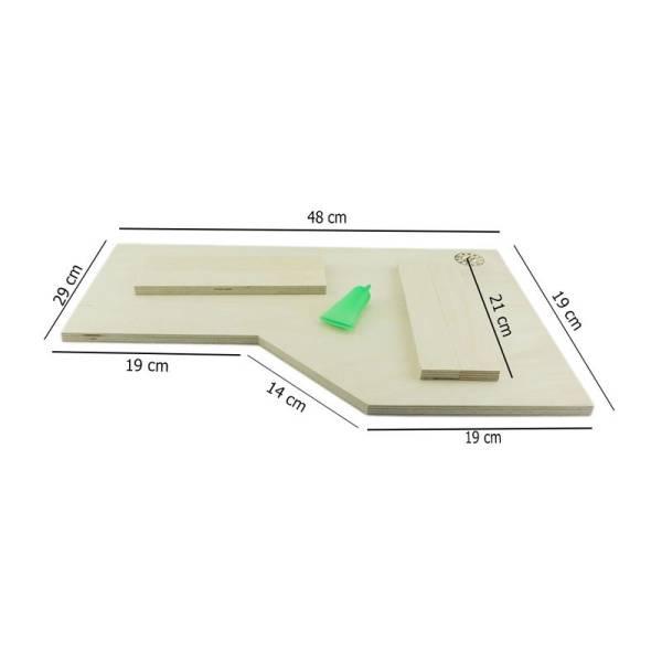 Ecketage R 49x30x21 cm