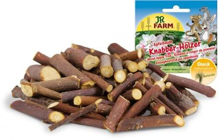 JR Farm Knabber-Hölzer Apfelbaum mit Verpackung